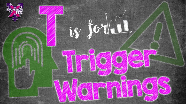 Episode 9: T is for Trigger Warnings